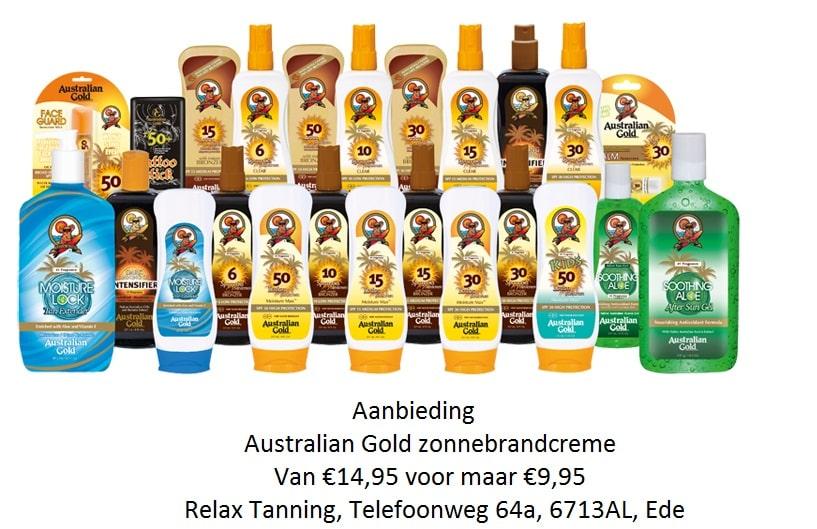 , SPF aanbieding, Relax Tanning