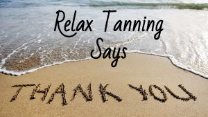 acties, Zonnebank acties, Relax Tanning, Relax Tanning